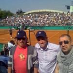 Александр Журавлев, Владимир Борисов (Eurotime) и Вадим Ясногородский (Max)