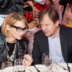 With Evelina Khromtchenko. C'est officiel! and Igor Butman.