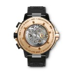 IWC AQUATIMER PERPETUAL CALENDAR DIGITAL DATE-MONTH (back) Арт. IW379401