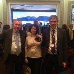 На стенде Montblanc. — with Alexander Zhuravlev, Svetlana Ruzaeva and Vladimir Borisov