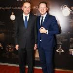 Посол Швейцарии в РФ Пьер Хельг и президент компании Baume & Mercier Алан Циммерман