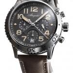 Breguet TYPE XXI 3813: платина, автоподзавод, хронограф-flyback в культовом стиле пилотских часов Breguet 1950-х , 42 мм.
