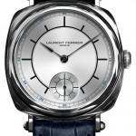 Laurent Ferrier Galet Square Only Watch: нержавеющая сталь, автоподзавод, мануфактурный калибр FNB 229.01, корпус «кушон» 41 х 41 мм. Использован «естественный спуск», работающий без смазки.