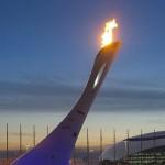 Олимпийсикй огонь зажжен.