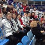 На соревнованиях по фигурному катанию