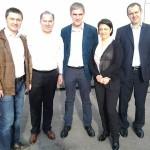 Максим Андрианов, Anthony von Moos, Владимир Борисов, Светлана Рузаева и Алексей Мартынов.