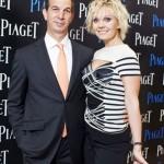 Президент компании Piaget Филипп Леопольд-Метцгер и певица Валерия