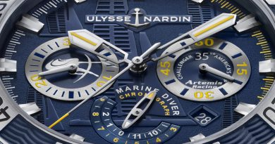 Часы Ulysse Nardin Diver Chronograph Artemis Racing