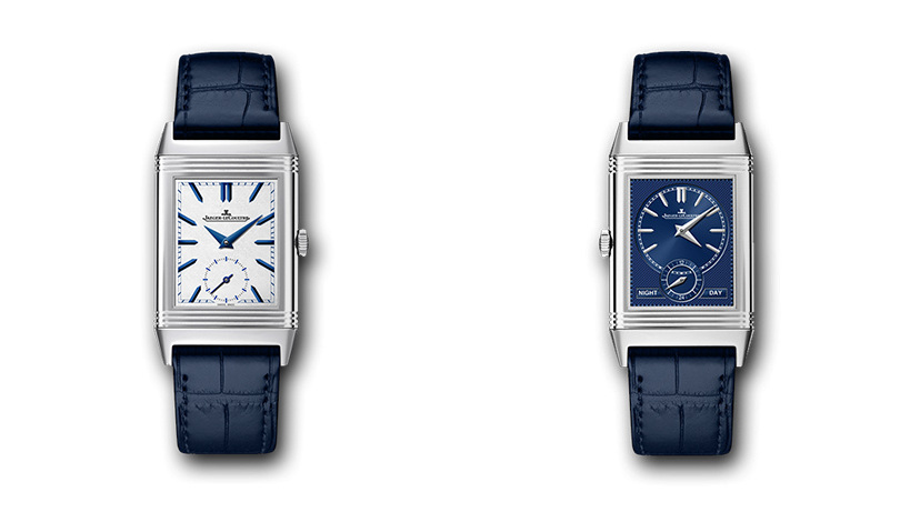 Reverso Tribute Duo 3908420. Сталь, ручной завод, 42.9x25.5х9.2 мм