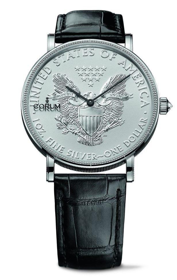Corum Heritage Artisans Coin Watch 082.645.01/0001 MU53