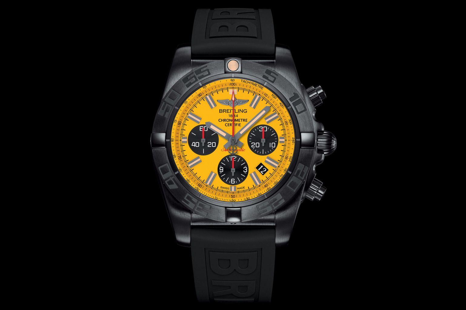 Breitling Chronomat 44 Blacksteel Special Edition