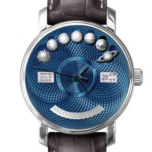 Andersen Geneve Perpetuel Secular Calender 20th Anniversary Blue Gold Dial
