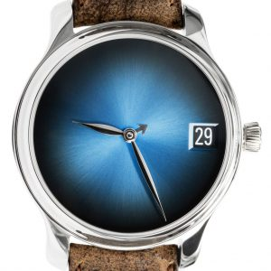 H. Moser & Cie. Endeavour Perpetual Calendar Concept Funky Blue