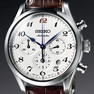 Seiko Presage Automatic Chronograph Enamel Dial