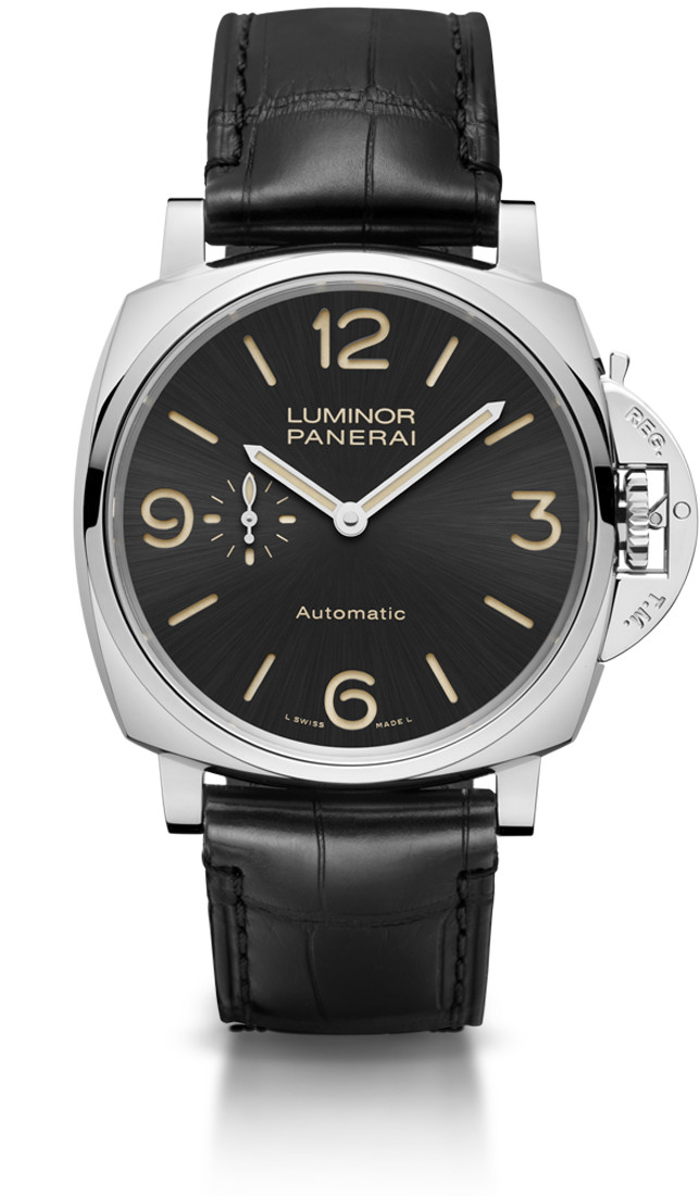 Panerai Luminor Due 3 Days Automatic Acciaio - 45 mm (PAM00674)