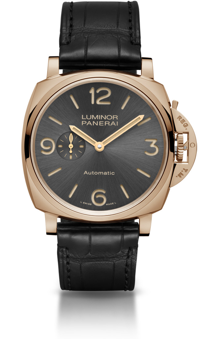 Panerai Luminor Due 3 Days Automatic Oro Rosso - 45 мм. (PAM00675)