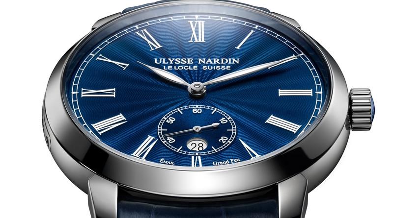 """Ulysse Nardin Classico Manufacture """"Grand Feu"""""""