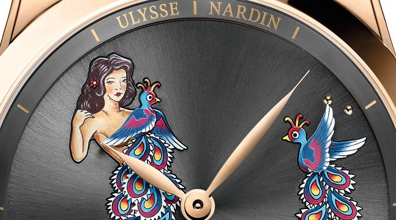 Ulysse Nardin Hourstriker Pin-Up