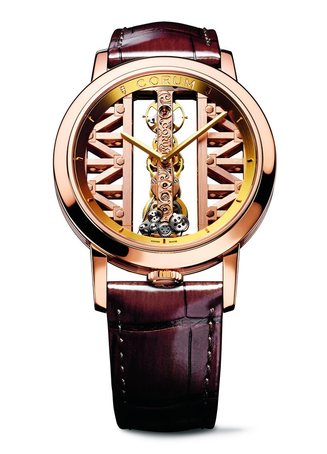 Corum Lady Golden Bridge Round 39mm B113/03010