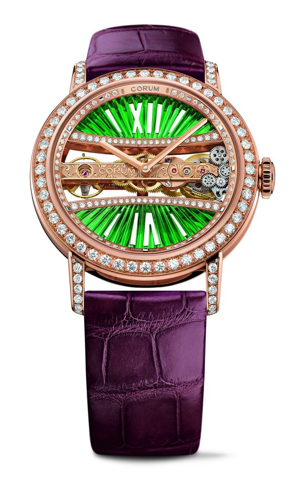 Corum Lady Golden Bridge Round 39 mm B113/03168