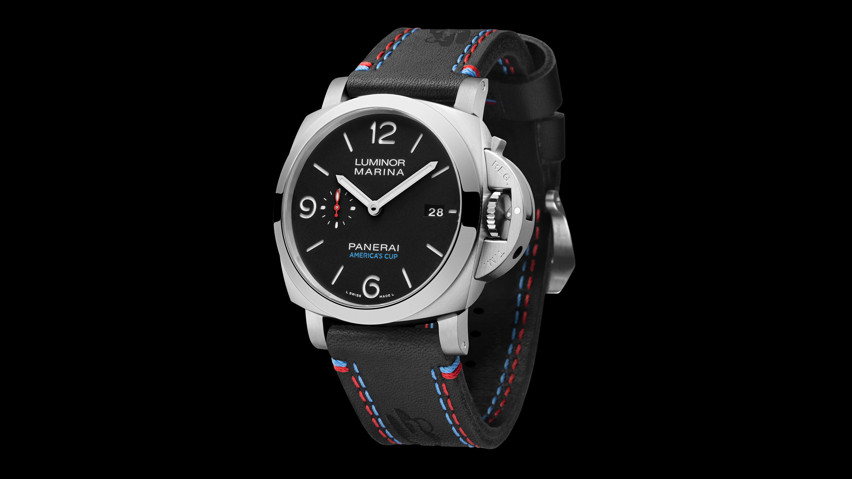SIHH-2017 Panerai Luminor Marina 1950 America's Cup 3 Days Automatic (Арт. PAM00727)