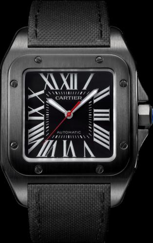 Cartier Santos 100 Carbone WSSA0006. Купить в Eurotime.