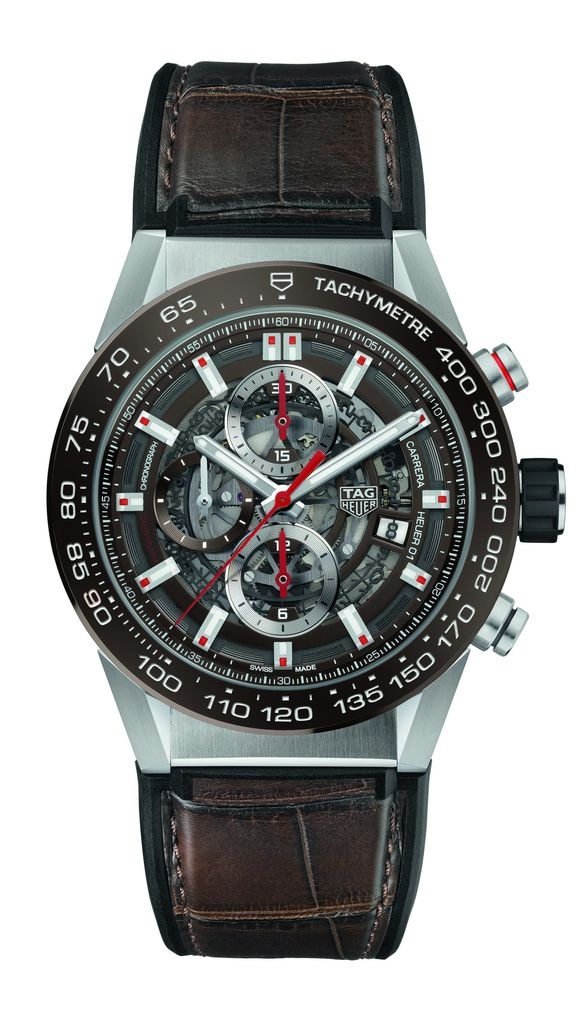 TAG Heuer CARRERA Heuer-01 43 mm CAR201U.FC6405