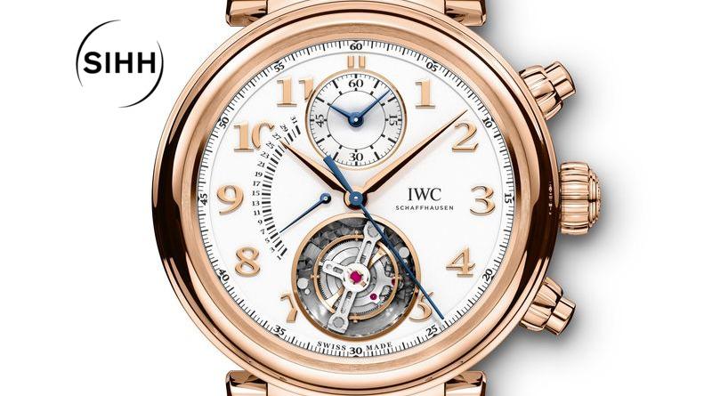 IWC Da Vinci Tourbillon Rétrograde Chronograph