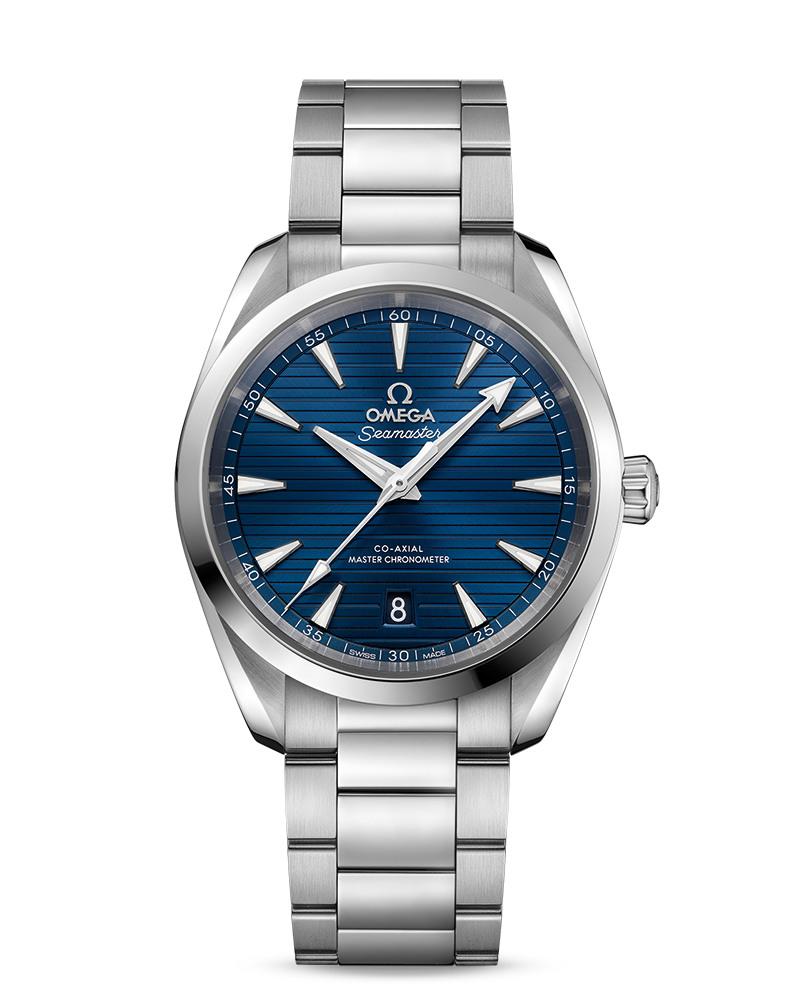 OMEGA Seamaster Aqua Terra 150m Master Chronometer 220.10.38.20.03.001 Сталь, автоподзавод, 38 мм, 150 м.