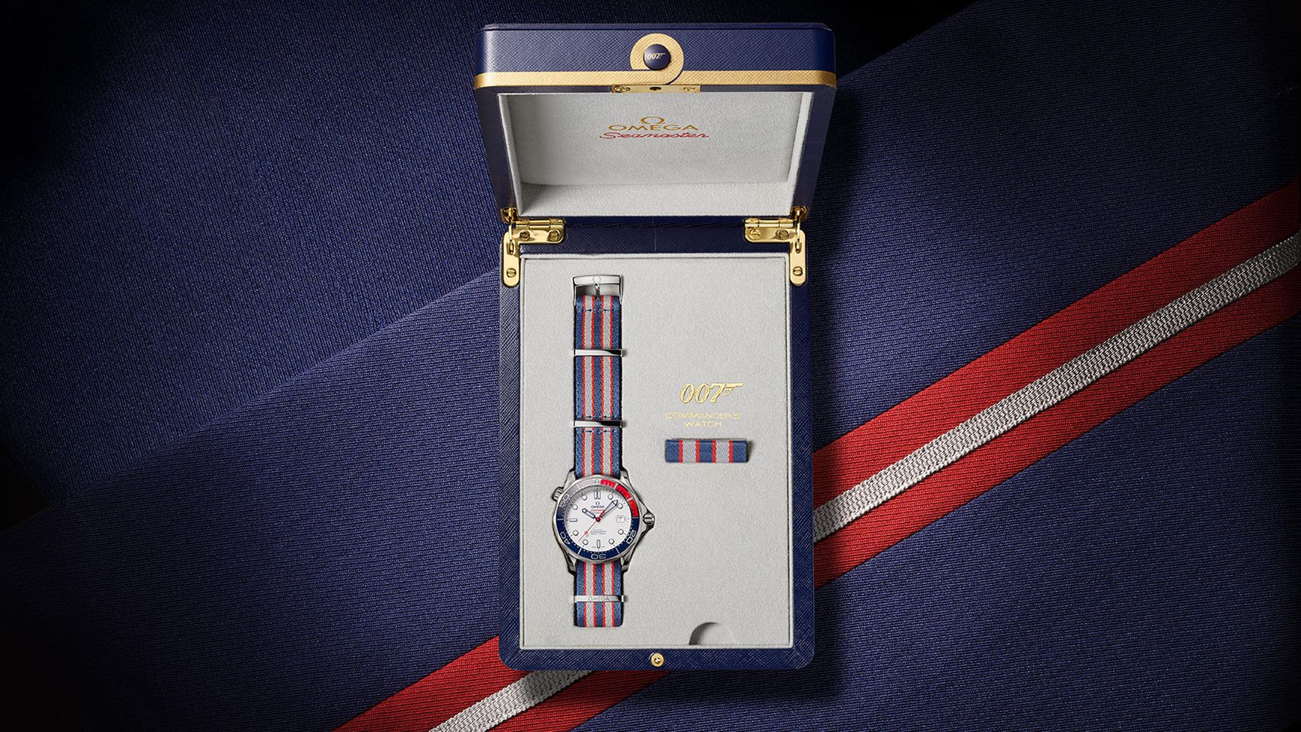 OMEGA Seamaster Diver 300M Commander's Watch в честь сэра Джеймса Бонда