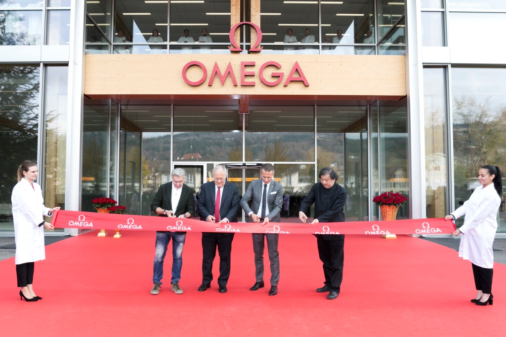 Открытие новой фабрики OMEGA