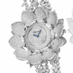 Chopard Lotus Blanc Watch