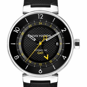 Louis Vuitton Tambour Moon GMT Black