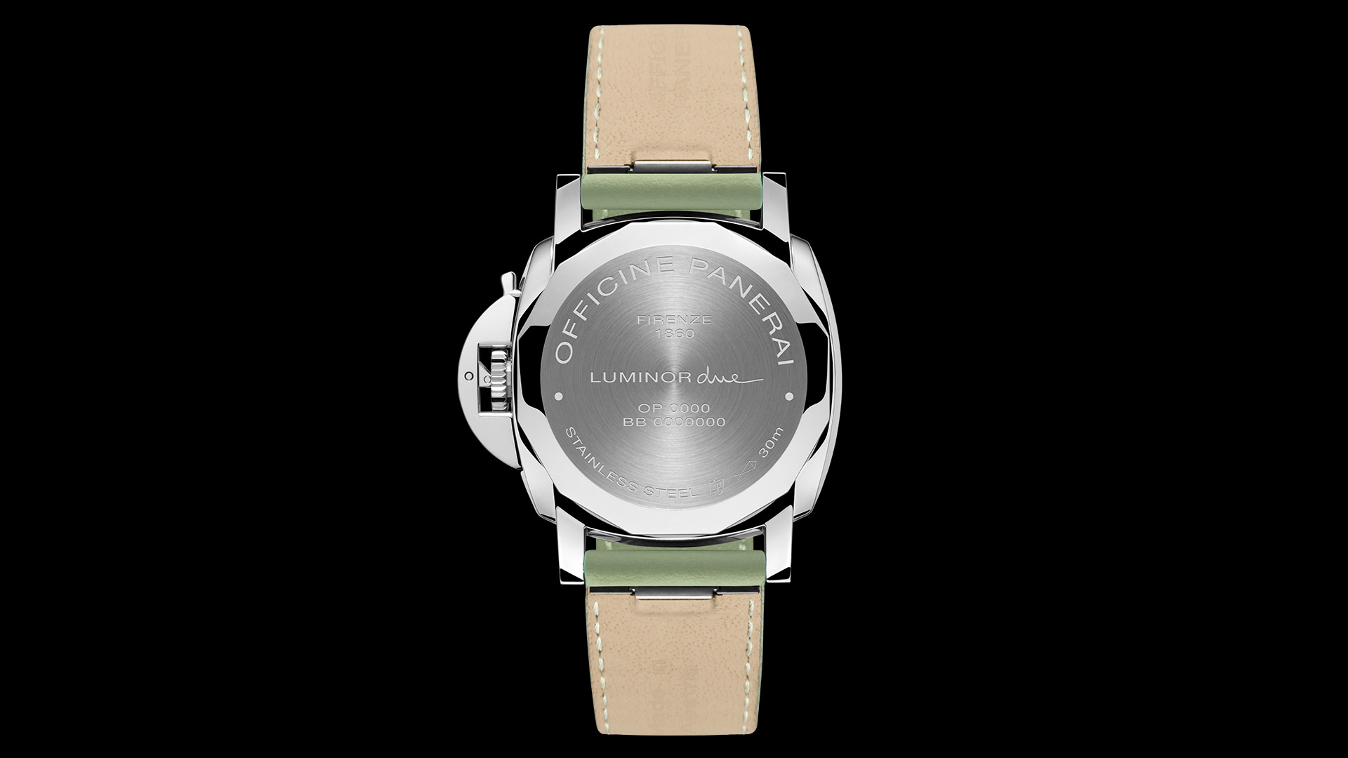 PANERAI LUMINOR DUE 3 DAYS AUTOMATIC ACCIAIO - 38 ММ PAM00755