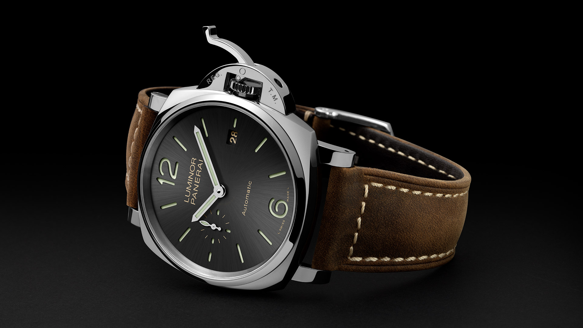 PANERAI LUMINOR DUE 3 DAYS AUTOMATIC ACCI AIO 42MM PAM00904