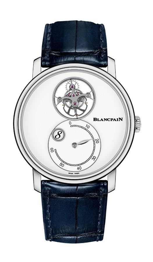 Blancpain Villeret Tourbillon Volant Heure Sautante Minute Rétrograde 66260-3433-55B