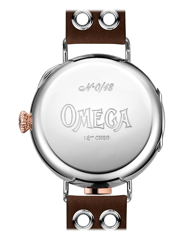 First Omega Wrist-Chronograph 516.52.48.30.04.001