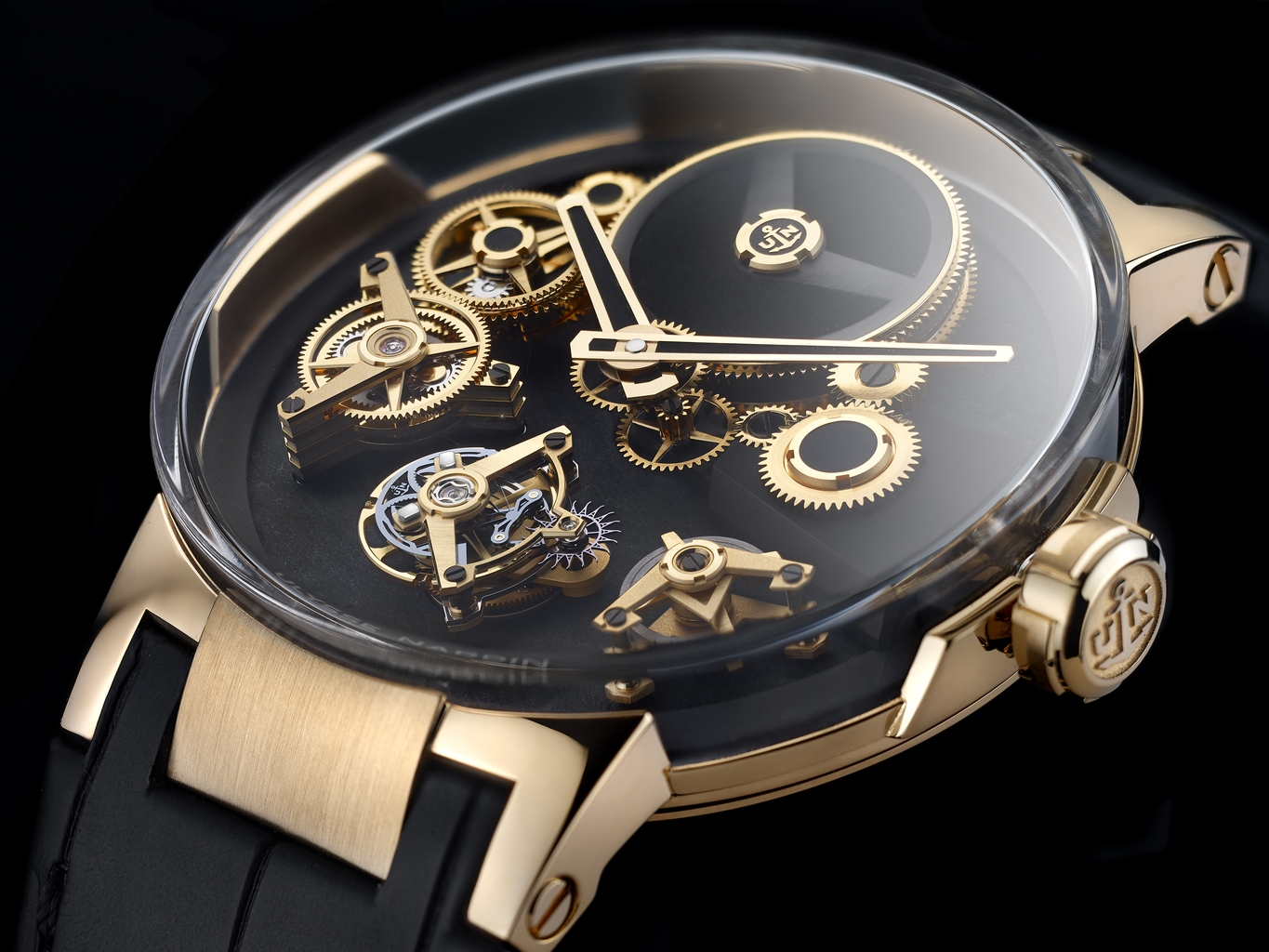 "Ulysse Nardin Executive Tourbillon ""Free Wheel"""