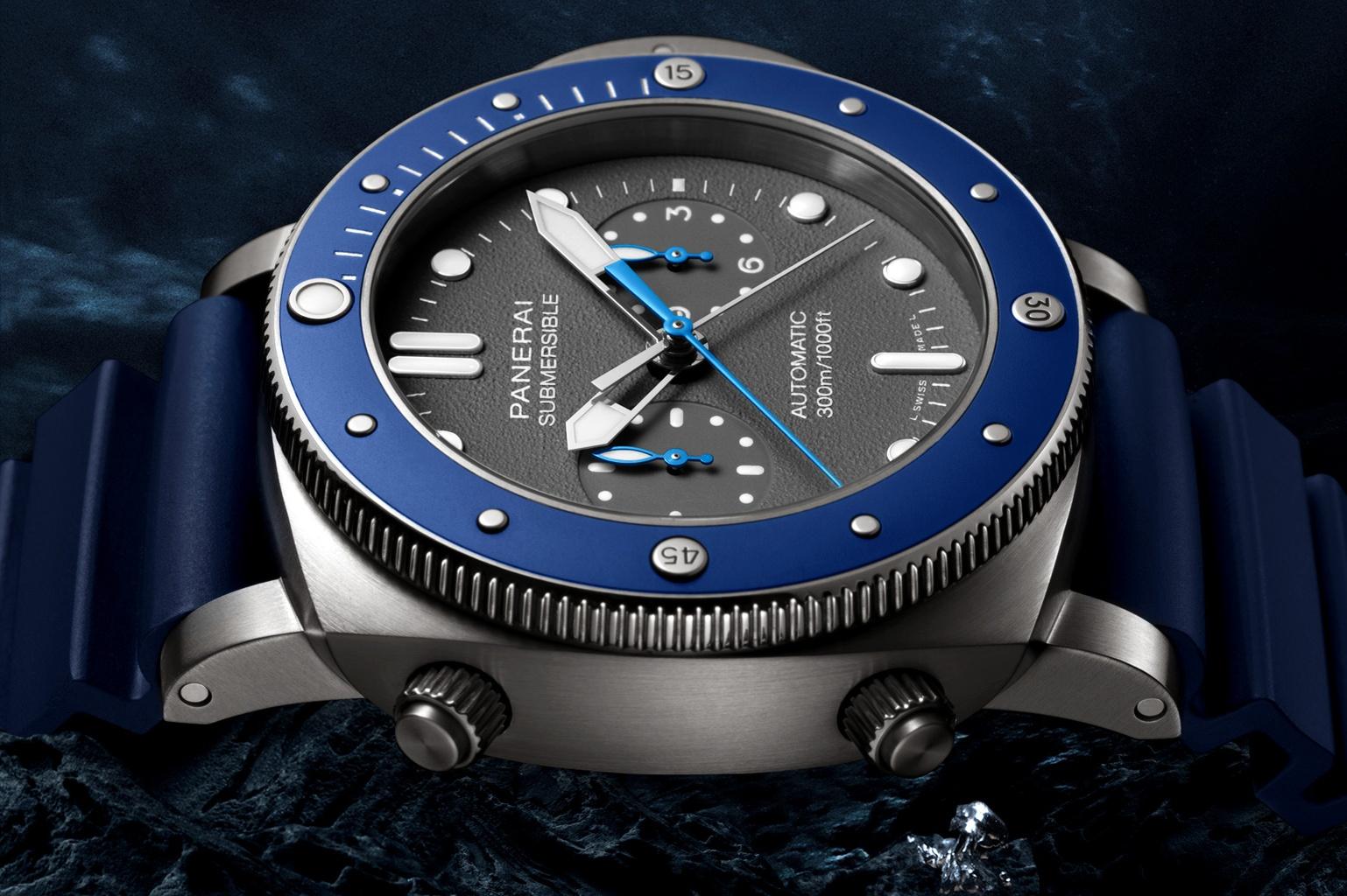 Часы Panerai Submersible Chrono – Guillaume Néry edition