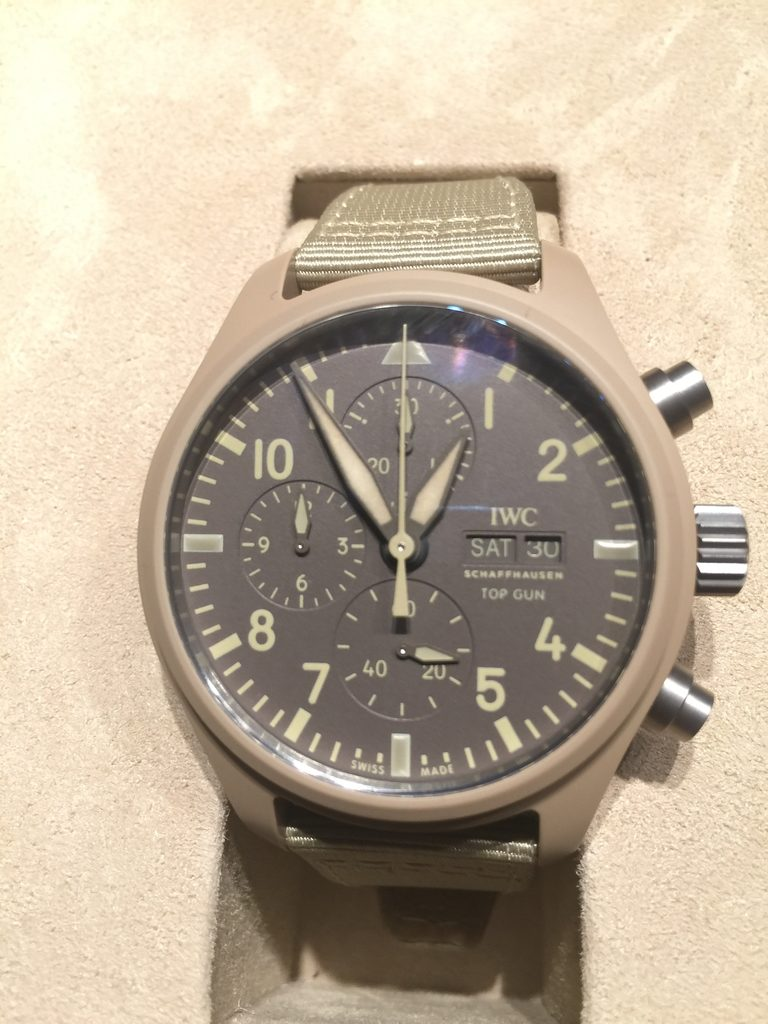 IWC Pilot's Watch Chronograph TOP GUN Edition Mojave Desert IW389103