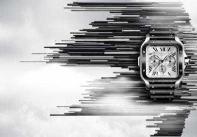 SIHH 2019: великолепное трио хронографов в культовой коллекции Santos de Cartier