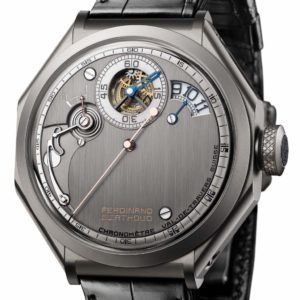 Chronométrie Ferdinand Berthoud Carburised steel regulator
