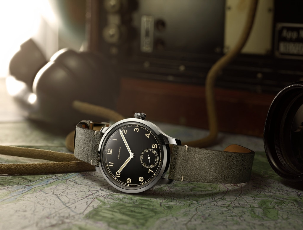The Longines Heritage Military 1938 L2.826.4.53.2