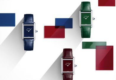 Watches&Wonders 2021! Три трибьютные монохромные модели Cartier Tank Must