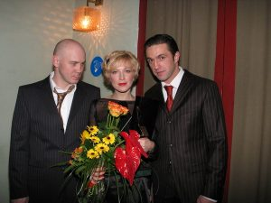 Виталий Хаев, Ирина Гринева и Владимир Вдовиченков