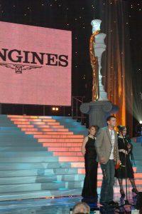 Лауреат премии «Чайка» 2005 в номинации «Злодей» и обладатель специального приза от компаний Eurotime и Longines Константин Хабенский