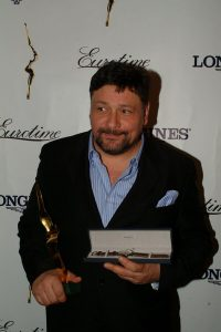 Лауреат премии «Чайка» 2005 в номинации «Маска Зорро» и обладатель специального приза от компаний Eurotime и Longines Дмитрий Назаров