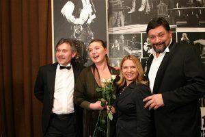 Александр Журавлев (Eurotime), Ольга Васильева, Екатерина Павленко (Eurotime) и Дмитрий Назаров