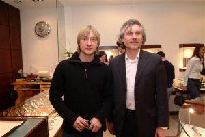 Евгений Плющенко и Александр Журавлев (Eurotime)