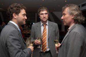 Michel Cheval (IWC), Владимир Борисов и Александр Журавлев (Eurotime)